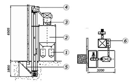 Система механического сбора абразива MB-System 3